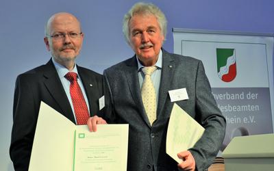 Klaus Bachtenkirch mit der Goldenen Ehrennadel des Bundesverbandes ausgezeichnet