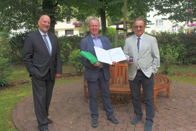 v.l. Volker Hilpert, Mathias Müller, Gerhard Bangert